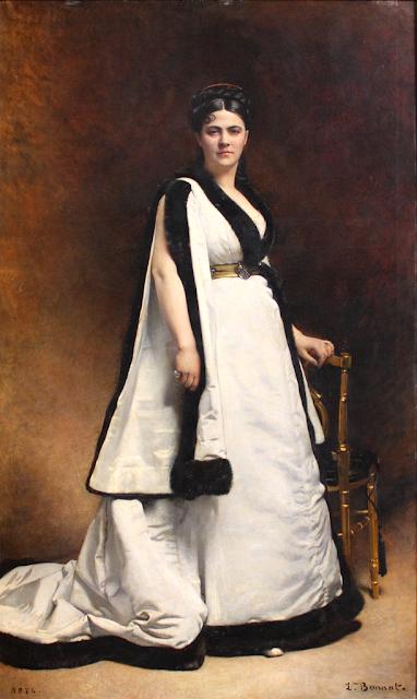 Léon Bonnat - Madame Pasca - 1874
