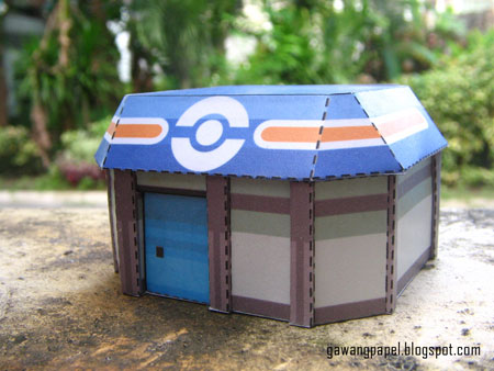 Pokemon Building Papercraft 1
