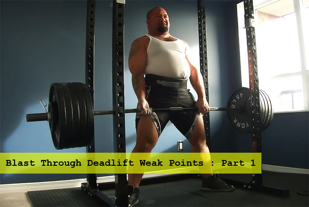 Powerlifter Deadlift
