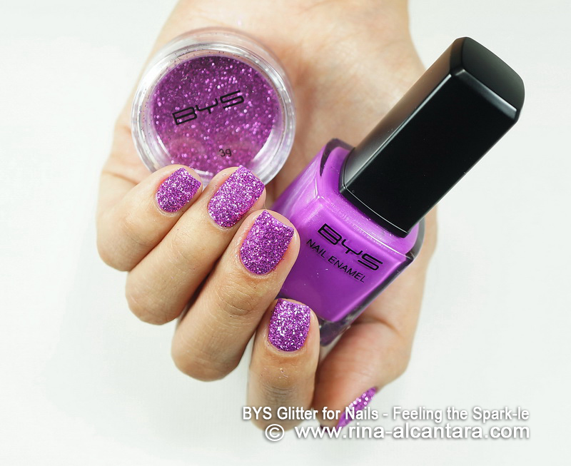BYS Glitter for Nails - Feeling the Spark-le