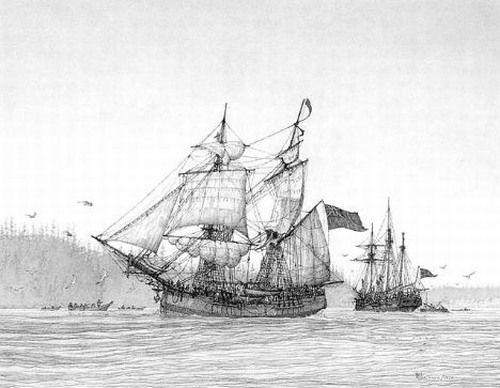 """""""Ngày 4/5/1823, đã 71 ngày không thức ăn và tôi là người cuối cùng còn sống sót trên tàu"""","""