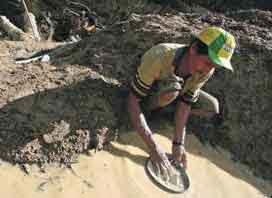 Золотодобыча в мире