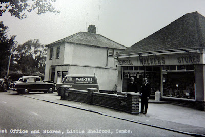 The former Post Office and Walkers shop, Whittlesford Road, Little Shelford