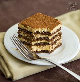 no bake pumpkin chocolate layer cake