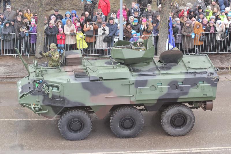 Парад по случаю 97 годовщины независимости Эстонии. Часть 3. Техника