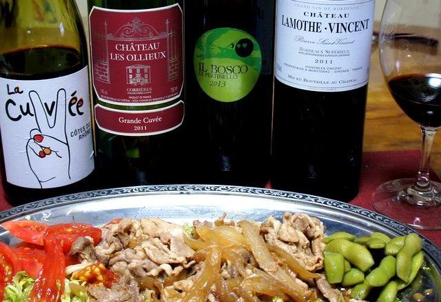 ワインとお惣菜