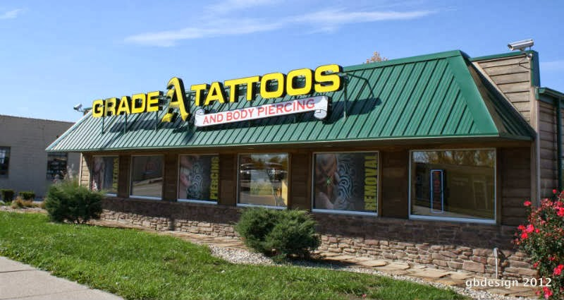 tattoos Ft Wayne | Grade A Tattoos & Body Piercing at 3615 N Clinton St, Fort Wayne, IN