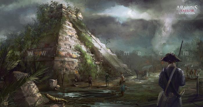 Hình nguyên họa cực chất của Assassin Creed III - Ảnh 3
