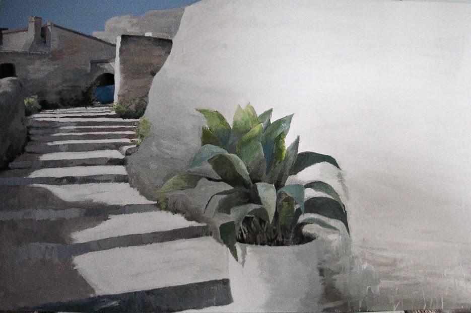Ana Hernández Morote,Pintora,Pintora Ana Hernández Morote,Pintura,del pintor al comprador, Ana Hernández Morote pintura,Ciudad de piedra