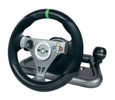 Draadloos Xbox 360 stuur