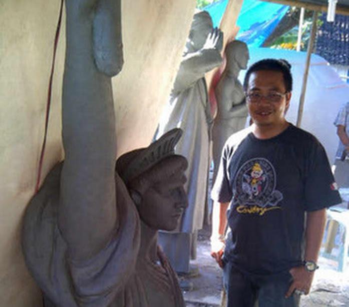 Patung liberty 1