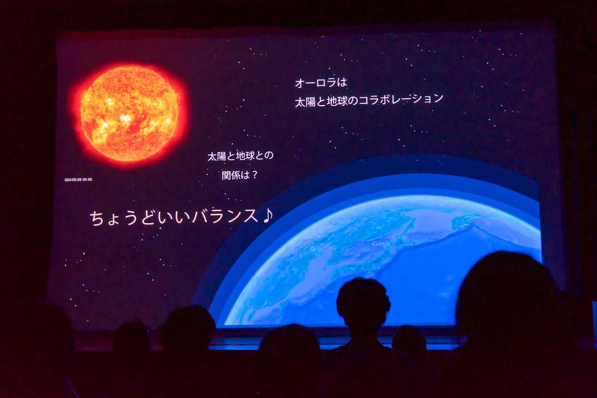 オーロラは太陽と地球のコラボレーション