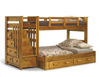 photo of bunk bed
