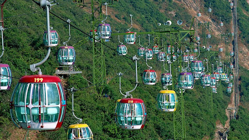 Cable Cars, Ocean Park, Hong Kong.jpg