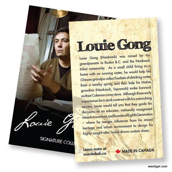 Louie Gong x Manitobah Mukluks Gatherer Boot
