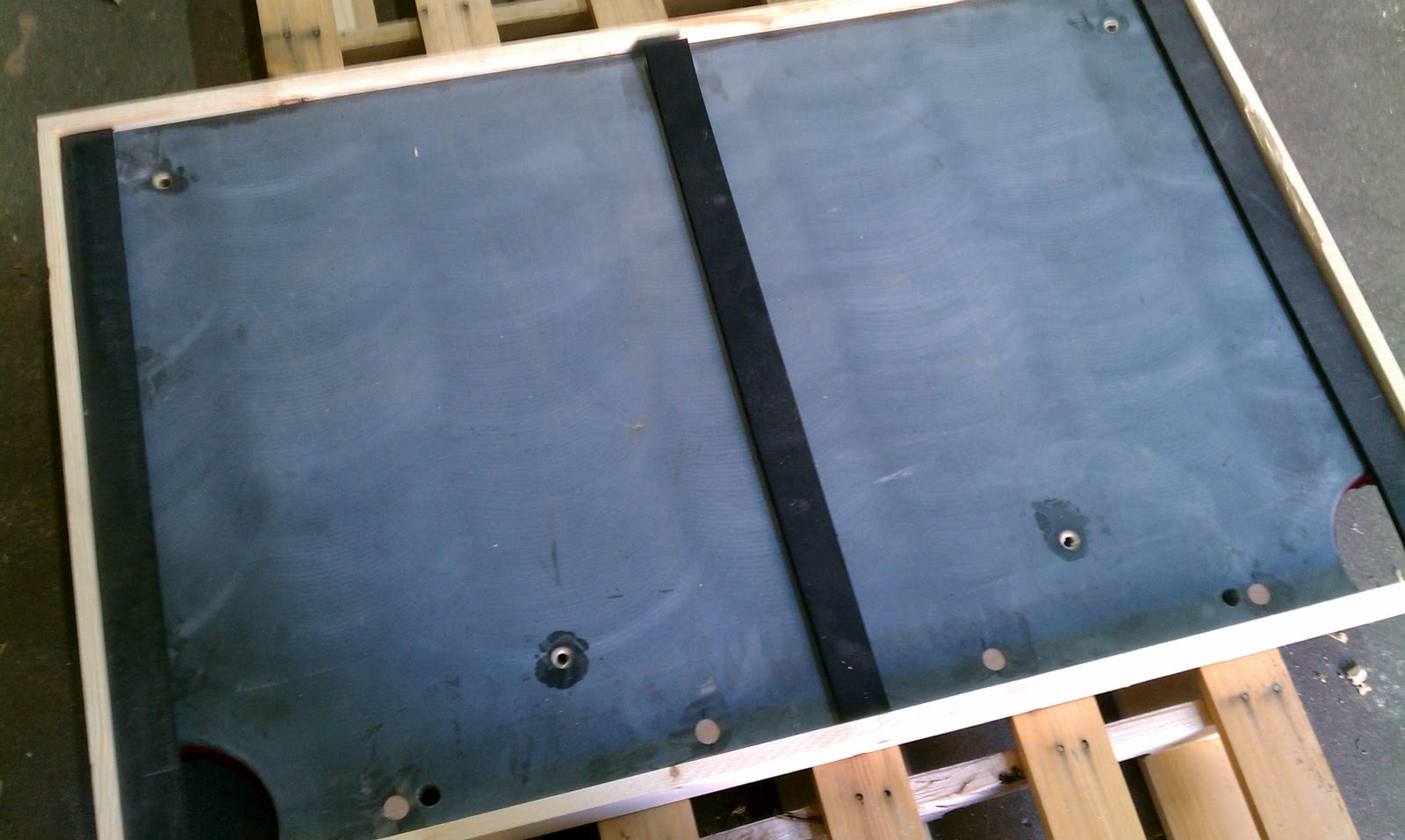 Big Break Billiards March - Pool table slate screws