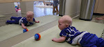 LePort Preschool Huntington Beach - Mirrors encourage tummy time - Montessori childcare