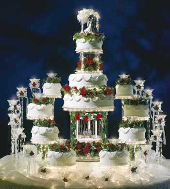 wedding cake for 300 guests thamanah boutique indian wedding cake 22702