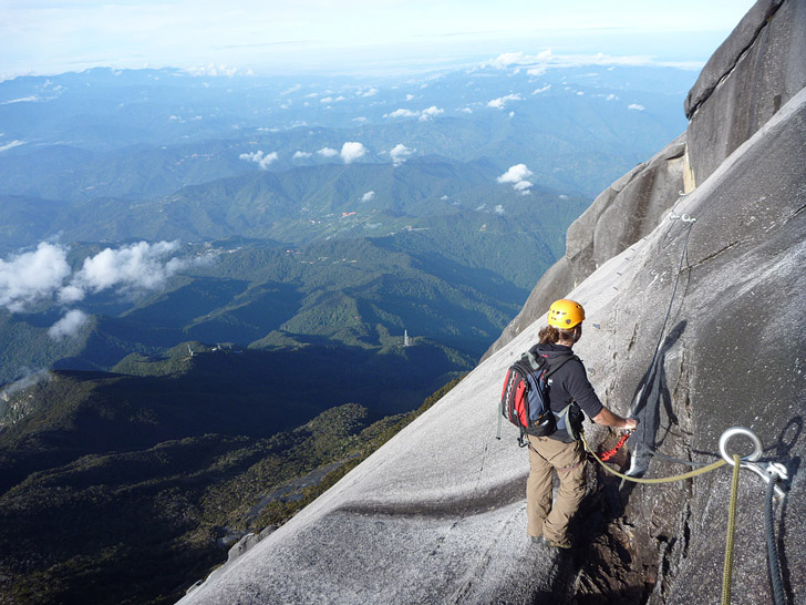 Mountain Torq Via Ferrata (15 Scariest Hikes in the World).