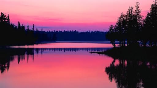 Sunrise Over Bisk Lake, Ontario, Canada.jpg