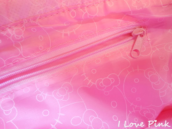 Bolsa cor de rosa da Hello Kitty