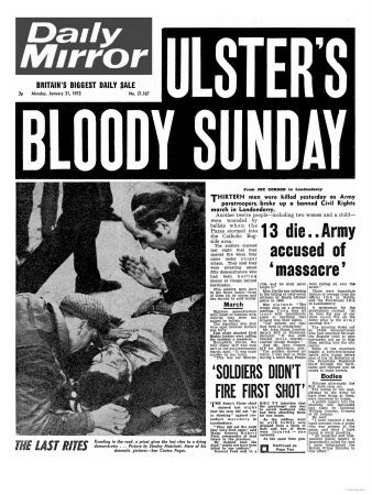 Daily Mirror January 31st 1972