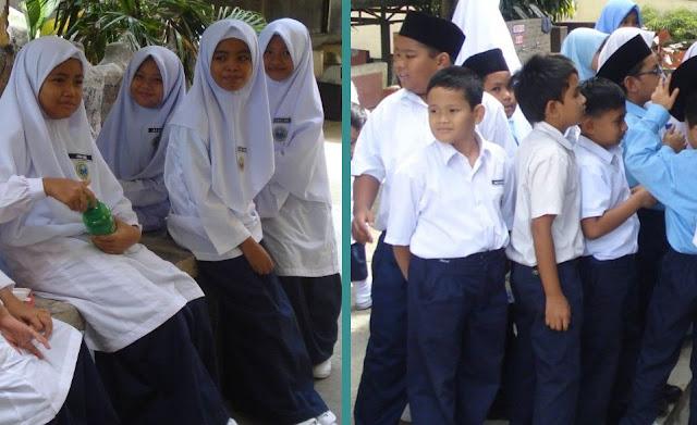 Berikut adalah panduan pakaian seragam murid SRIH: