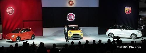 Fiat at the 2012 LA Auto Show