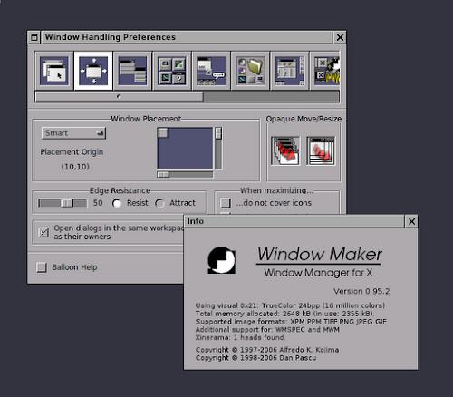 Window Maker Live CD