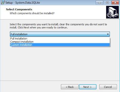 Driver Connector/Net de SQLite para .Net