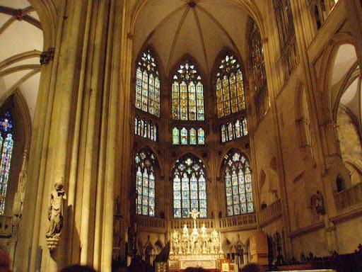 レーゲンスブルク大聖堂の内部