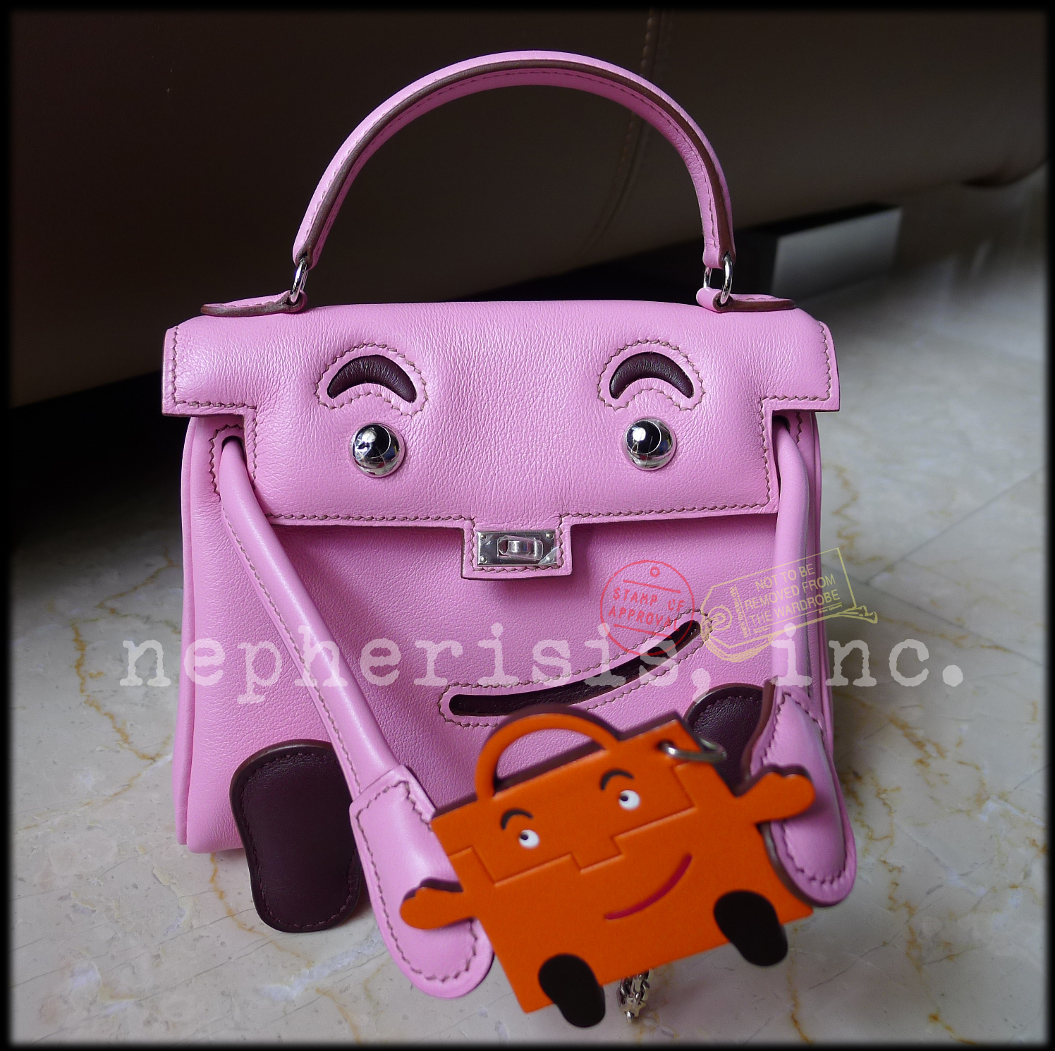 by hermes kelly doll bag
