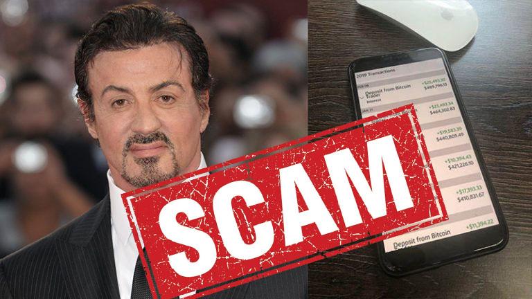 sylvester stallone scam