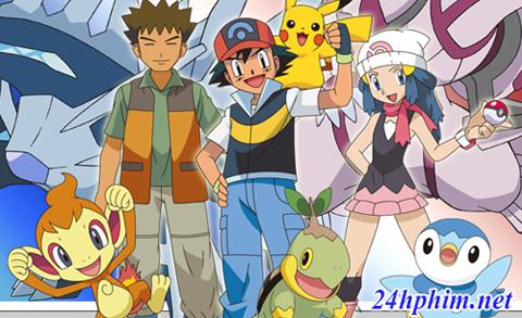 24hphim.net pokemondp Pokemon Bửu Bối Thần Kì Season 10