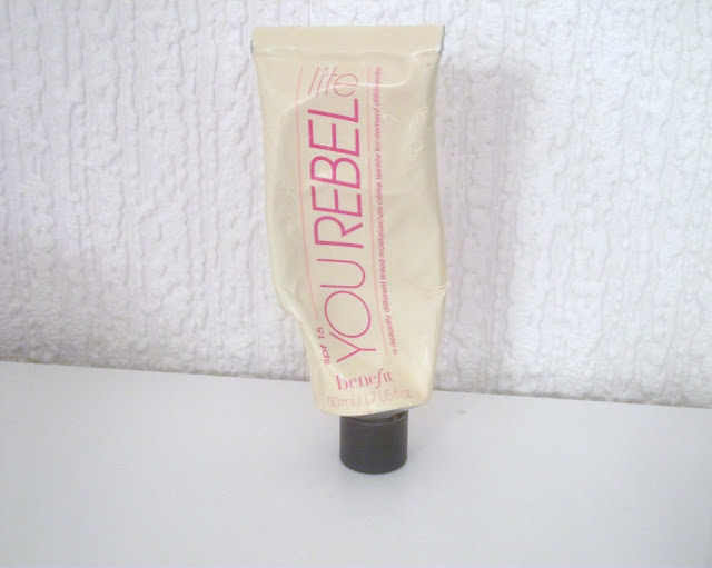 you rebel lite benefit cosmetics uk discontinued products reviews bloggers beauty the beauty type
