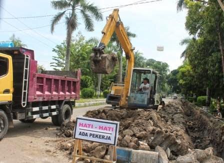 Mega Proyek Face Off Alun-Alun Ngawi