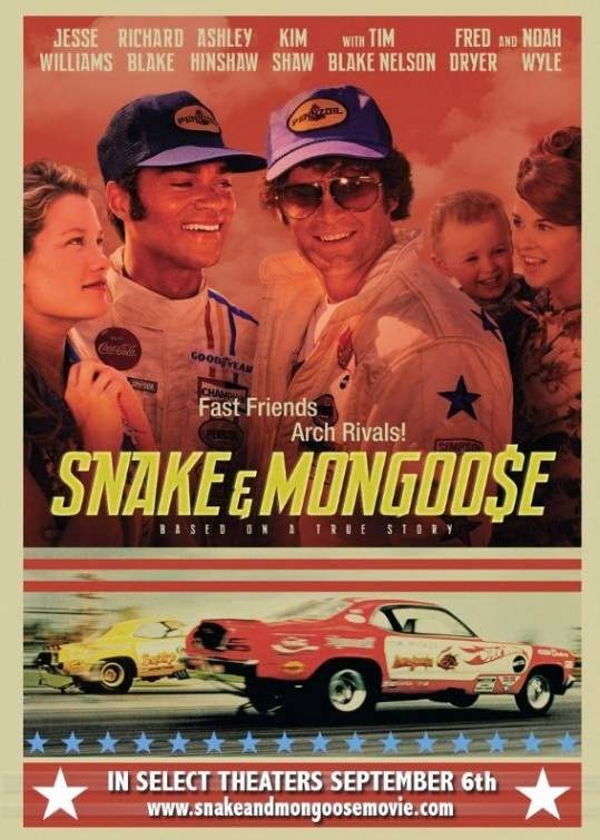 Poster Of English Movie Snake and Mongoose (2013) Free Download Full New Hollywood Movie Watch Online At Alldownloads4u.Com