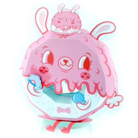 BunnyGirls Donut Paper Toy