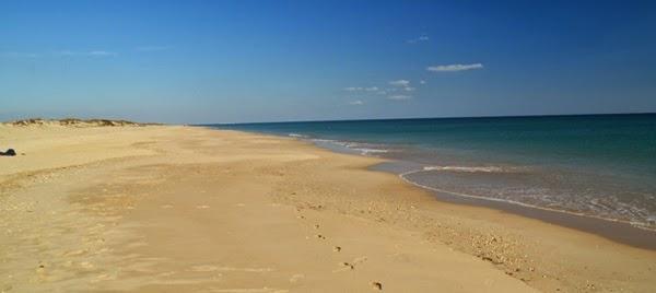 Praia do Barril - Férias em Tavira