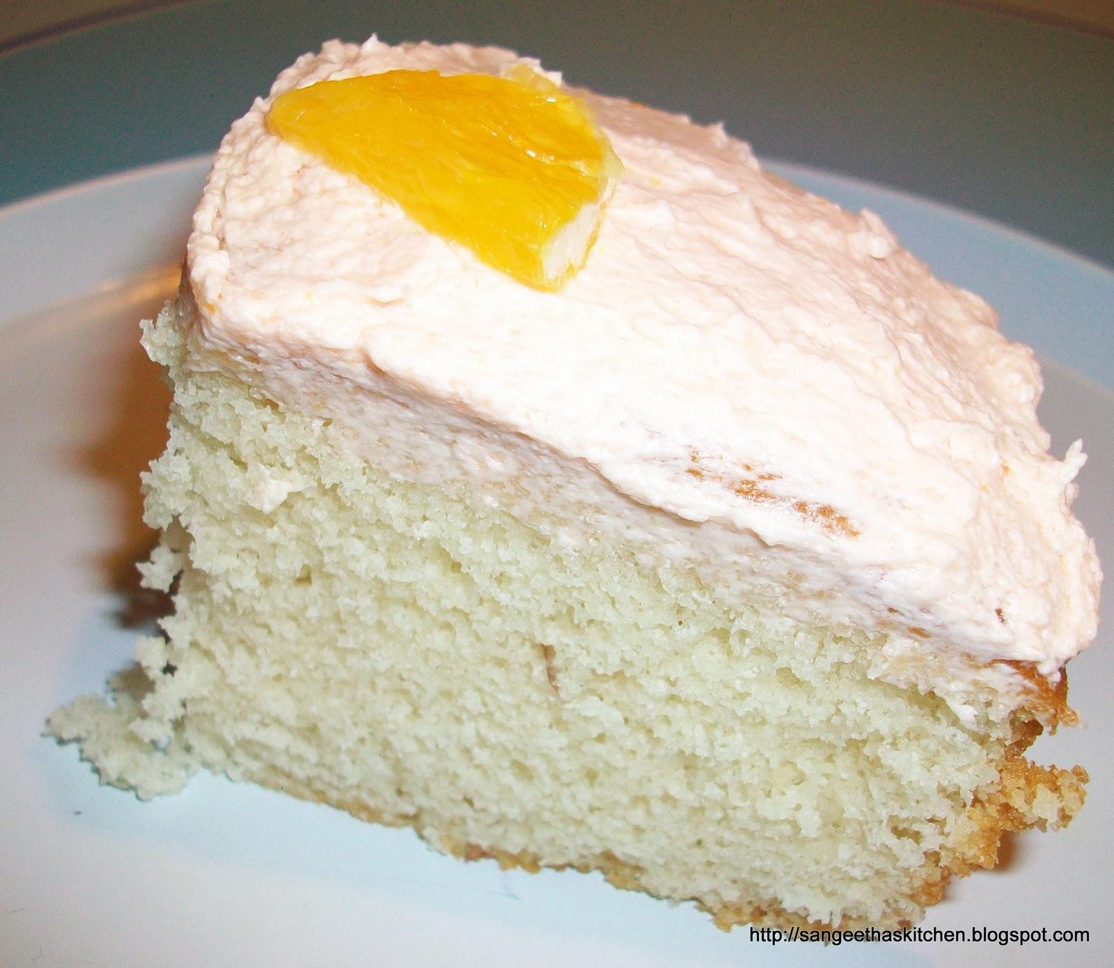 Spicy Treats: Simple Vanilla Cake