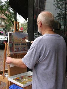 Artist Daniel Fishback
