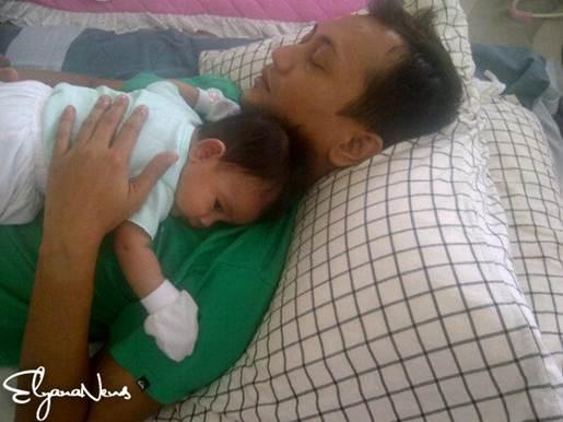 gambar suami elyana dan anak