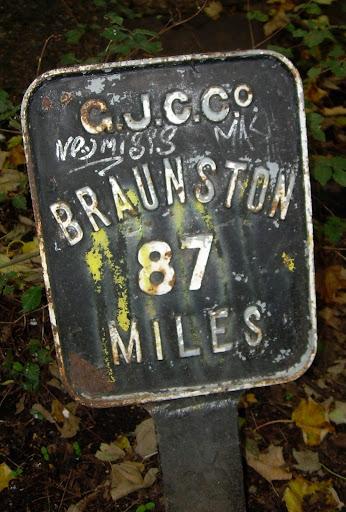 Mileage marker