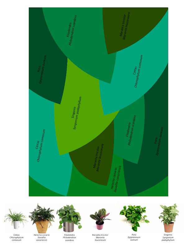 Diseño de jardín vertical
