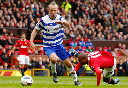 Ashley Young, Manchester United - Queens Park Rangers