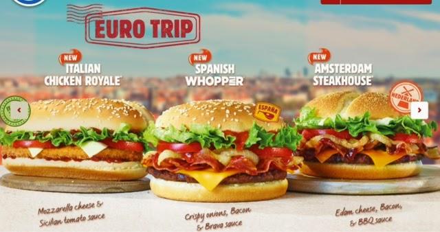Burger King Euro Trip