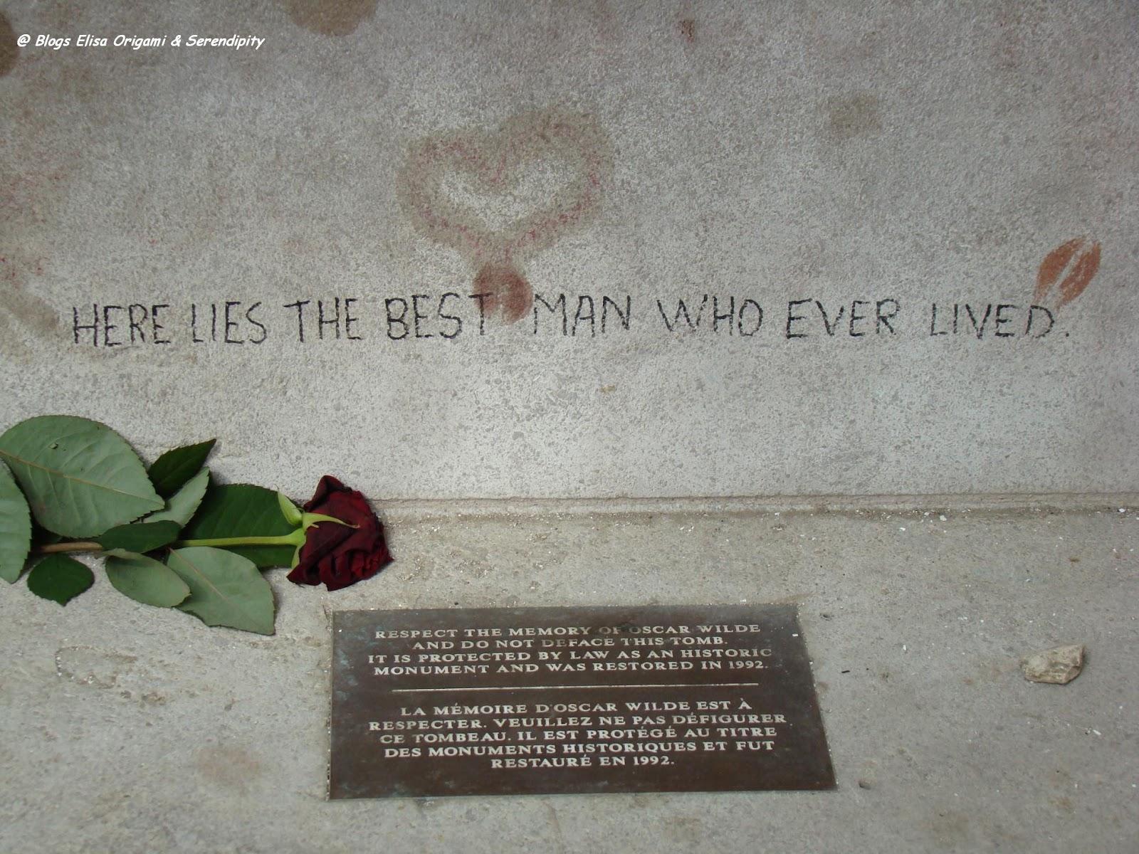 Oscar Wilde, Pere Lachaise, París, Elisa N, Blog de Viajes, Lifestyle, Travel