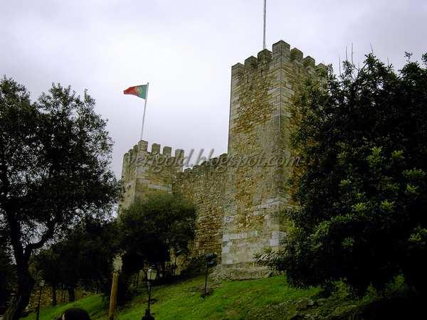 Лиссабон - старая крепость Святого Георгия