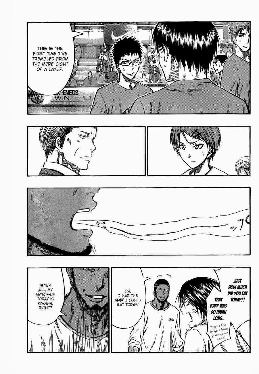Kuroko no Basket Manga Chapter 230 - Image 17
