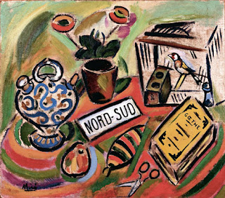 Nord-Sud, 1917, by Joan Miró.